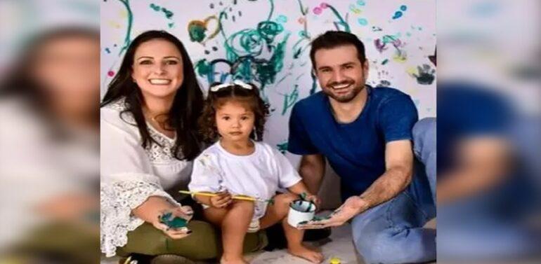Casal e filha de 3 anos morrem em acidente na BR-282