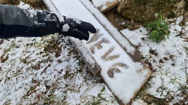 Queda de flocos de neve foi registrada em 23 municípios de SC