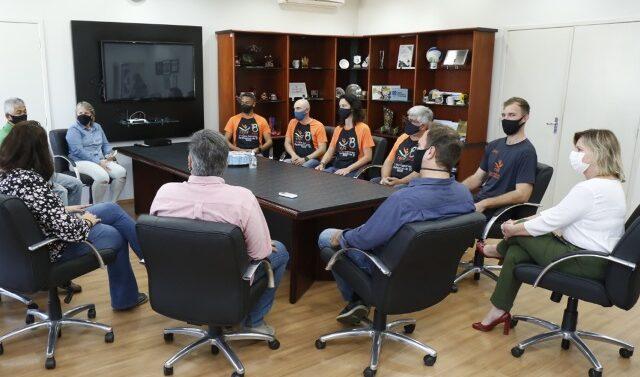 Representantes de Joinville nas Paralimpíadas de Tóquio são recebidos na Prefeitura