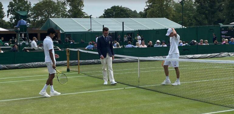 Joinvilense se despede nas oitavas em Wimbledon