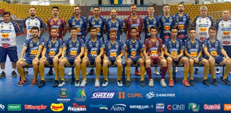 Membros da delegação da equipe de Futsal de Umuarama recebem alta médica