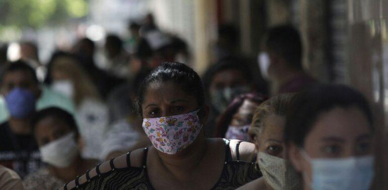 Covid-19: Brasil tem 20,75 milhões de casos e 579,5 mil mortes