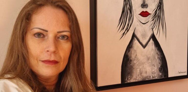 """Artista Ane Vizcaychipi apresenta """"Fragmentos Femininos"""" na Galeria de Arte do Garten"""