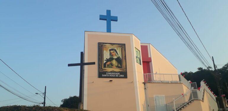 Vereadores homenageiam Comunidade Santa Rosa de Lima