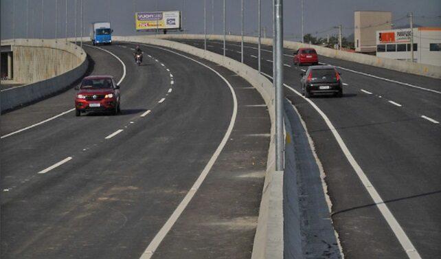 Liberado tráfego do novo elevado da BR-280, em Guaramirim