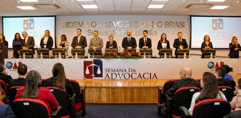 Pela primeira vez, Semana da Advocacia da OAB Joinville será em formato híbrido