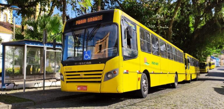 Transporte coletivo volta a circular com 70% da capacidade normal em SFS