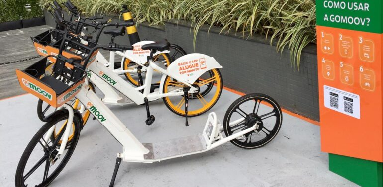 Garten Shopping ganha serviço de aluguel de bicicleta elétrica