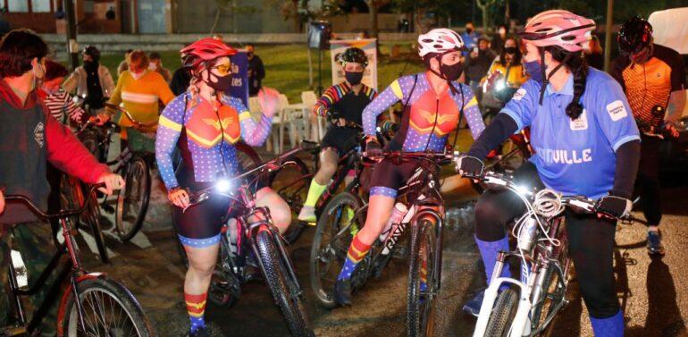 Primeira edição do Mexa-se Bike é realizada no Adhemar Garcia