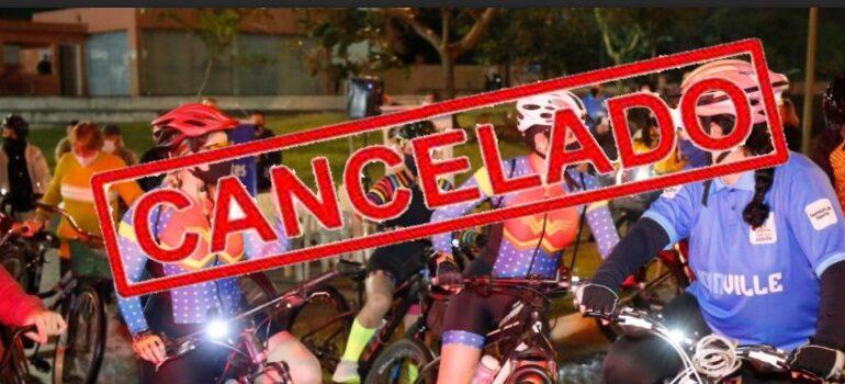 Mexa-se Bike de hoje está cancelado