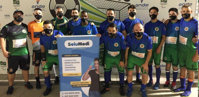 A equipe de Futebol de 7 PC de Joinville fica em 4 em competição nacional