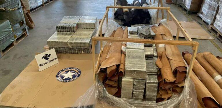 Receita Federal apreende 537 quilos de cocaína no Litoral Norte