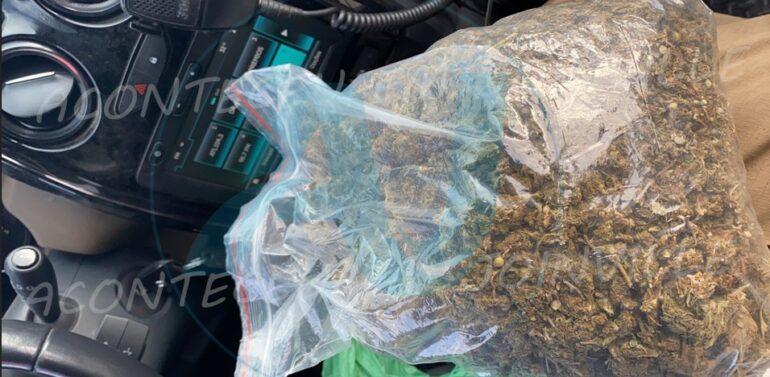 Dupla presa por tráfico de drogas no Jardim Paraíso