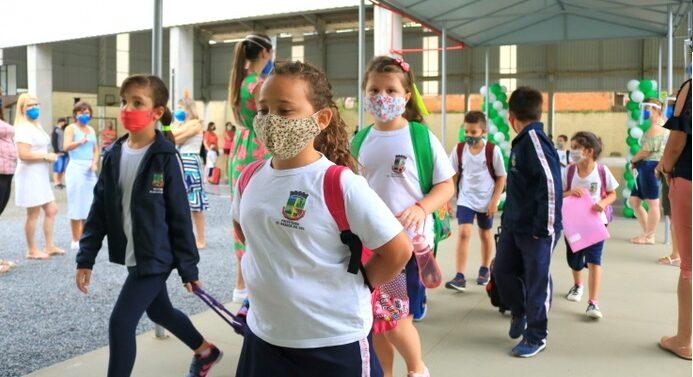 Rede municipal de Jaraguá do Sul retorna às aulas 100% presenciais nesta segunda