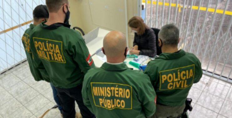 """GAECO deflagra operação """"Sob Encomenda"""" para combater facção criminosa Joinville"""