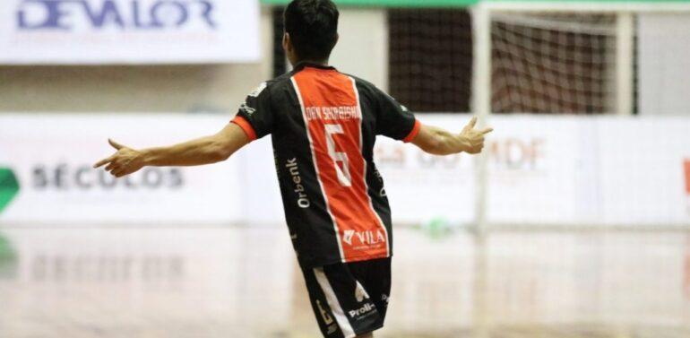 JEC/Futsal goleia o São Lourenço pelo Estadual