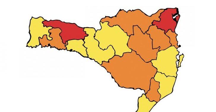 Região de Joinville permanece em risco gravíssimo para Covid-19