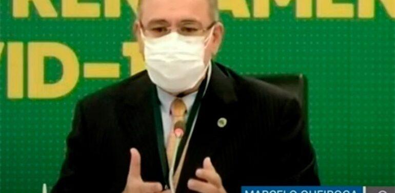 Ministro da Saúde anuncia início de 3ª dose da vacina