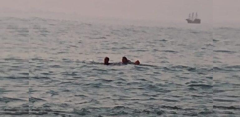 Barco com três pescadores vira e um deles morre no Litoral Norte