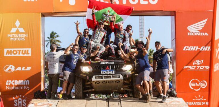 Equipe catarinense é top 5 no Rally dos Sertões