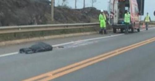 Jovem morre atropelado por carreta na BR-116