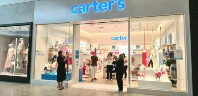 Marca infantil Carter's inaugura no Garten Shopping