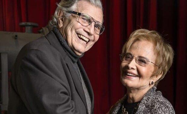 Tarcísio Meira e Glória Menezes são internados com covid-19