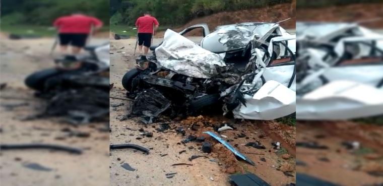 Vídeo : Motorista morre em acidente na BR-280