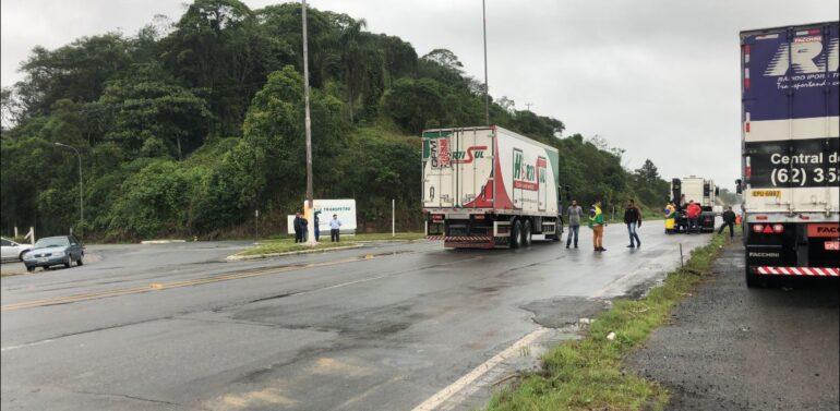 Base em Guaramirim é liberada e gasolina volta a ser distribuída na região