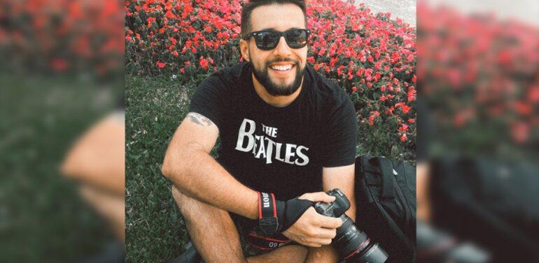 Fotógrafo morre com Covid-19 no dia do aniversário