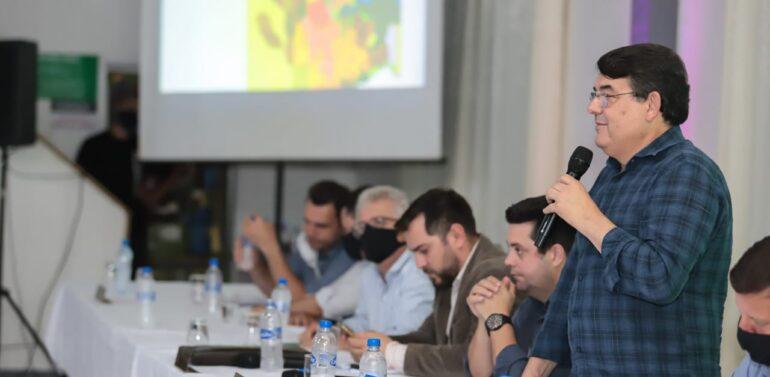 Presidente da Câmara de Vereadores participa de Audiência Pública sobre a revisão do Plano Diretor