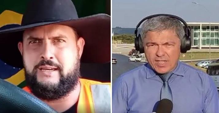 Alexandre Moraes manda prender Zé Trovão e bolsonarista Wellington Macedo