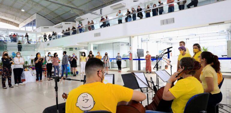 Música e arte integram programação do Setembro Amarelo em Joinville