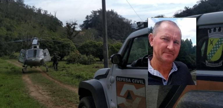 Após cinco dias desaparecido, homem é encontrado morto em área de mata