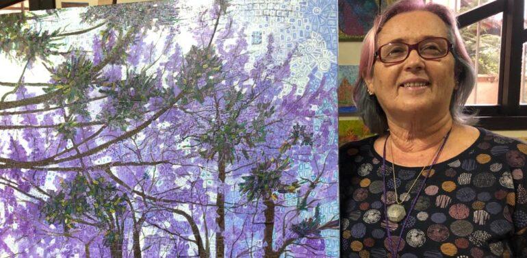"""Artista SoniaRosa inaugura exposição """"Paisagens Brincantes"""" no Garten"""