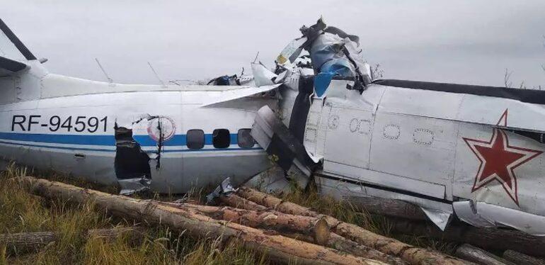 Queda de avião na Rússia deixa pelo menos 16 mortos