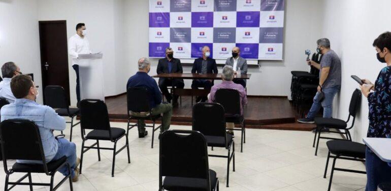Araquari recebe secretário estadual de Infraestrutura e Mobilidade