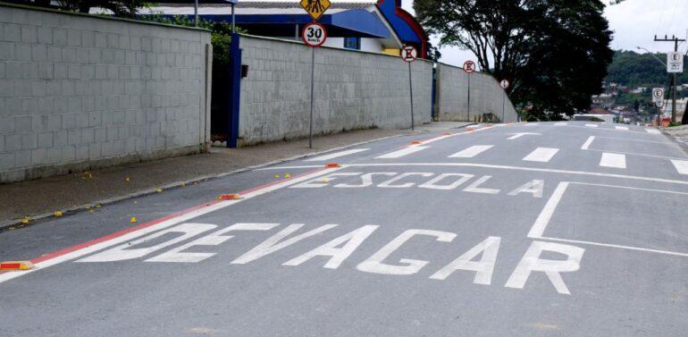 Detrans pintou mais de 1 mil faixas de pedestres em 2021