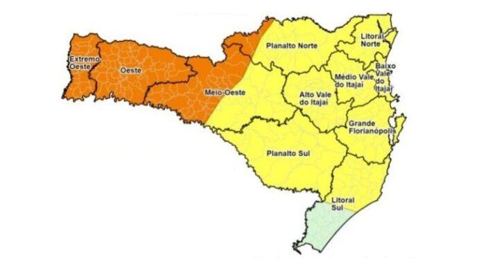Defesa Civil alerta para chegada de chuvas e temporais no Estado