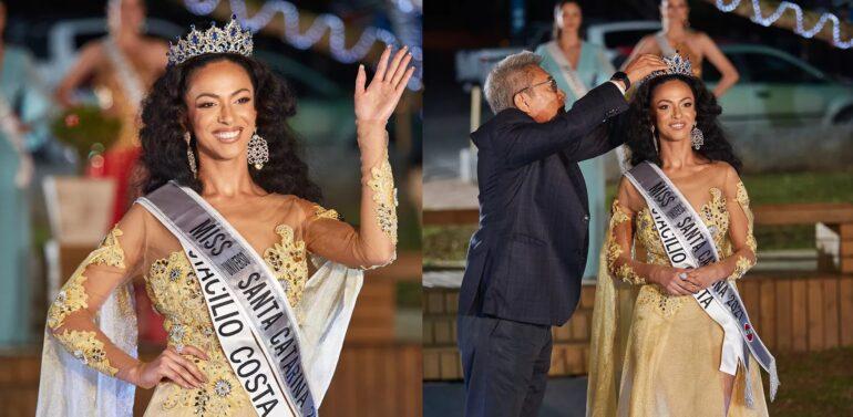 Bruna Valim é a primeira negra a vencer o Miss Universo Santa Catarina
