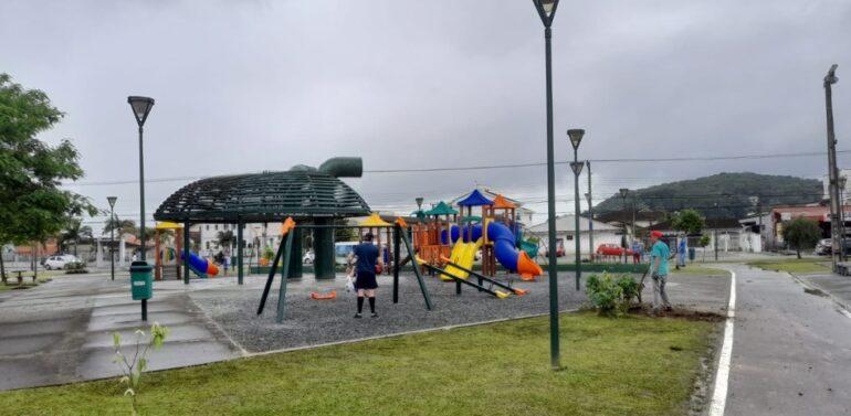 Finalizadas obras do Parque da Cidade, na Zona Sul de Joinville